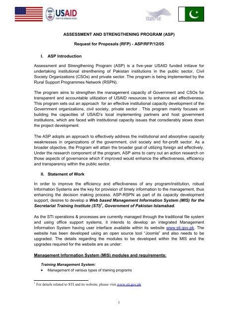 APPENDIX A – DESCRIPTION OF SERVICES - Assessment and