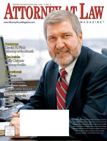 David H. Fink Yuliy Osipov - Health Law Partners, PC