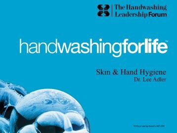 Skin & Hand Hygiene - Handwashing for Life Foodservice