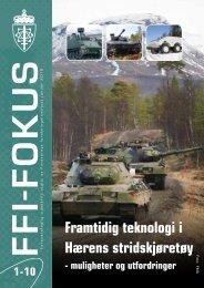Nr. 1: Framtidig teknologi i Hærens stridskjøretøy - Forsvarets ...
