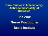Psoriatic Arthritis - Institute for Health Care Studies (IHCS)