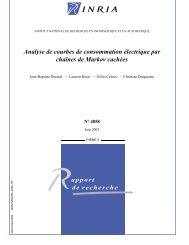 Analyse de courbes de consommation électrique ... - Mistis - Grenoble