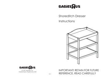 toys r us sleigh cot bed assembly instructions