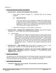 Addendum 2: A. SPECIFICATIONS AND CONTRACT ... - Birmingham