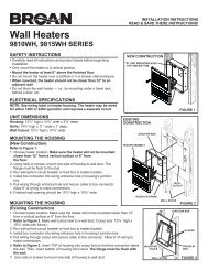 Wall Heaters - Electric Bathroom Heaters