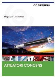 ATTUATORI CONCENS - Setec