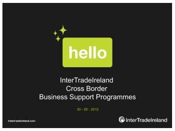InterTrade Ireland's presentation - Tipperary
