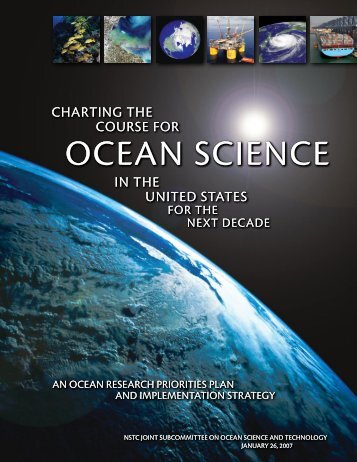 Charting the Course for Ocean Science in the United States for the ...