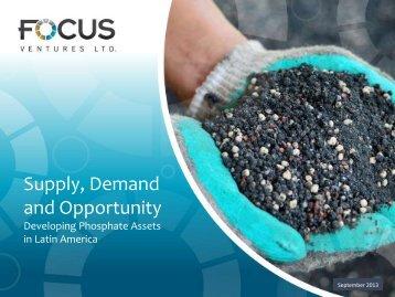 September 2013 - Focus Ventures Ltd.