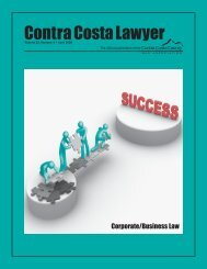 Corporate/Business Law - Contra Costa County Bar Association