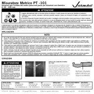 Misuratore Metrico PT -101 - Victaulic