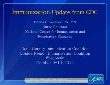 Powerpoint Handout - Public Health - Madison & Dane County
