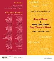 View the invitation. - Jewish Home Lifecare