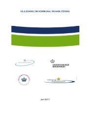 Vejledning om kommunal rehabilitering - Socialministeriet
