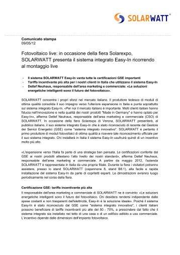 PDF; 90 K - Solarwatt