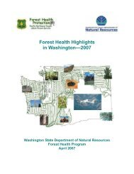 Minnesota Forest Health Highlights 2007 - Forest Health Monitoring