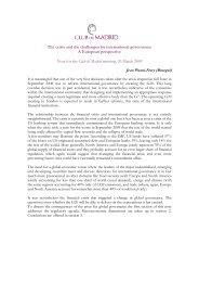 Background Document - Club of Madrid