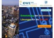 Entwicklung der Stromnetze: Lösungen für die Zukunft - Siemens