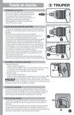 Destornillador para pared de yeso Drywall screwdriver - truper - Page 7