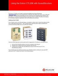 2484d6246 Sistemas de videoconferencias de Polycom® Maletas de transporte