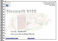 Sinumerik 810D & SinuTrain - Vysoké učení technické v Brně