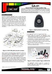 Visio-DigiTool GA-01 Data Sheet 170204.vsd - Fairfax Electronics