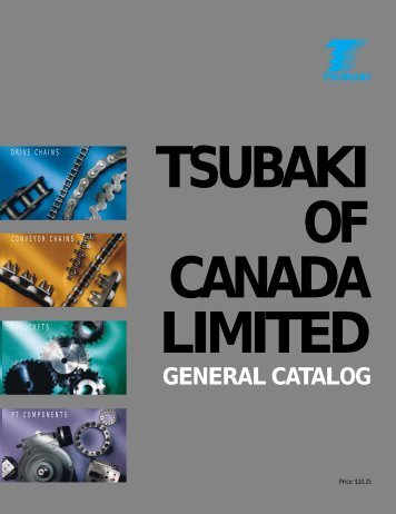 GENERAL CATALOG - Tsubaki