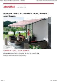 markilux 1710 / 1710 stretch - Andre Atzert