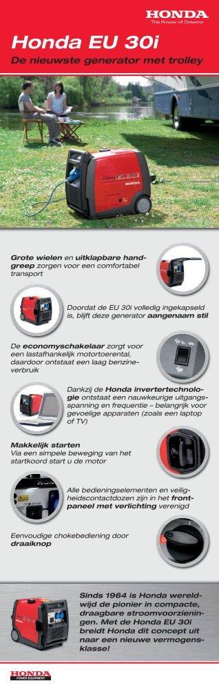 Honda EU 30i