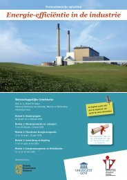 Energie-efficiëntie in de industrie - IVPV - Instituut voor Permanente ...