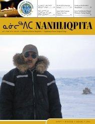 ᓇᓃᓕᖅᐱᑕ ᐅᖃᓕᒫᒐᐃᑦ ᐅᑭᐅᖅ 2009 - Nunavut Tunngavik Inc.