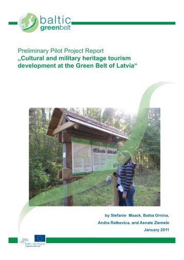 Preliminary Pilot Project Report - Baltic Green Belt - Christian ...