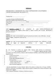 Modulo A - Comune di Riccione