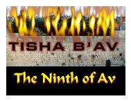 The Jewish 911 - Congregation Yeshuat Yisrael