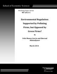 Supported by Polluting Firms, but Opposed by Green Firms?