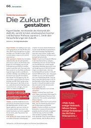 Die Zukunft - Audi Geschäftsbericht 2012