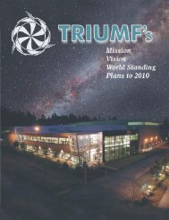 The TRIUMF collection of cyclotrons