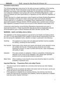INSTRUCTIONS FOR INSTALLATION, USE AND ... - Robeys Ltd - Page 7