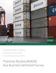Thomson Reuters/INSEAD Asia Business Sentiment Survey