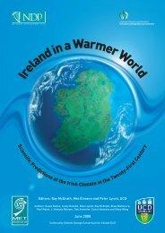 Ireland in a Warmer World - School of Mathematical Sciences