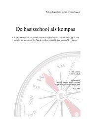 De basisschool als kompas - Universiteit Utrecht