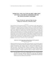 modeling and analysis of free vibration of steel-concrete composite ...