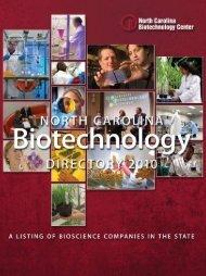 BiotEChNology - North Carolina Biotechnology Center