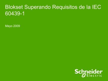 Blokset - Schneider Electric