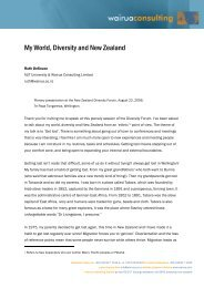 My World, Diversity and New Zealand - Human Rights Commission