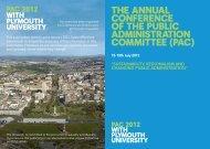 PAc - Plymouth University