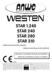 Baxi Westen Star 240 280 210 - Certened