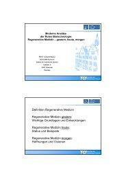 Kasper II Reg Med 2010 LS - TCI @ Uni-Hannover.de