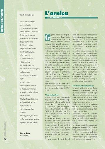 L'arnica - Riviste