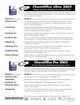 ChemDraw Ultra 7.0 ChemDraw Pro 7.0 - CambridgeSoft - Page 6